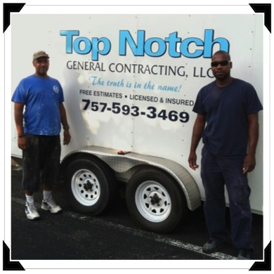 Mark Barrett (r) and Jeff (l) of Top Notch General Contracting